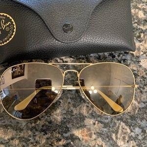 Ray-Ban Accessories - RayBans Large Aviator Sunglasses